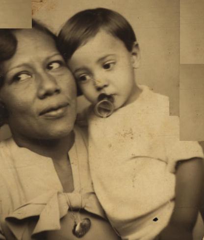 Betty e o filho, Alfredinho. 1935 circa (IMS_PIX_A05F25P07 / Acervo Pixinguinha / IMS)