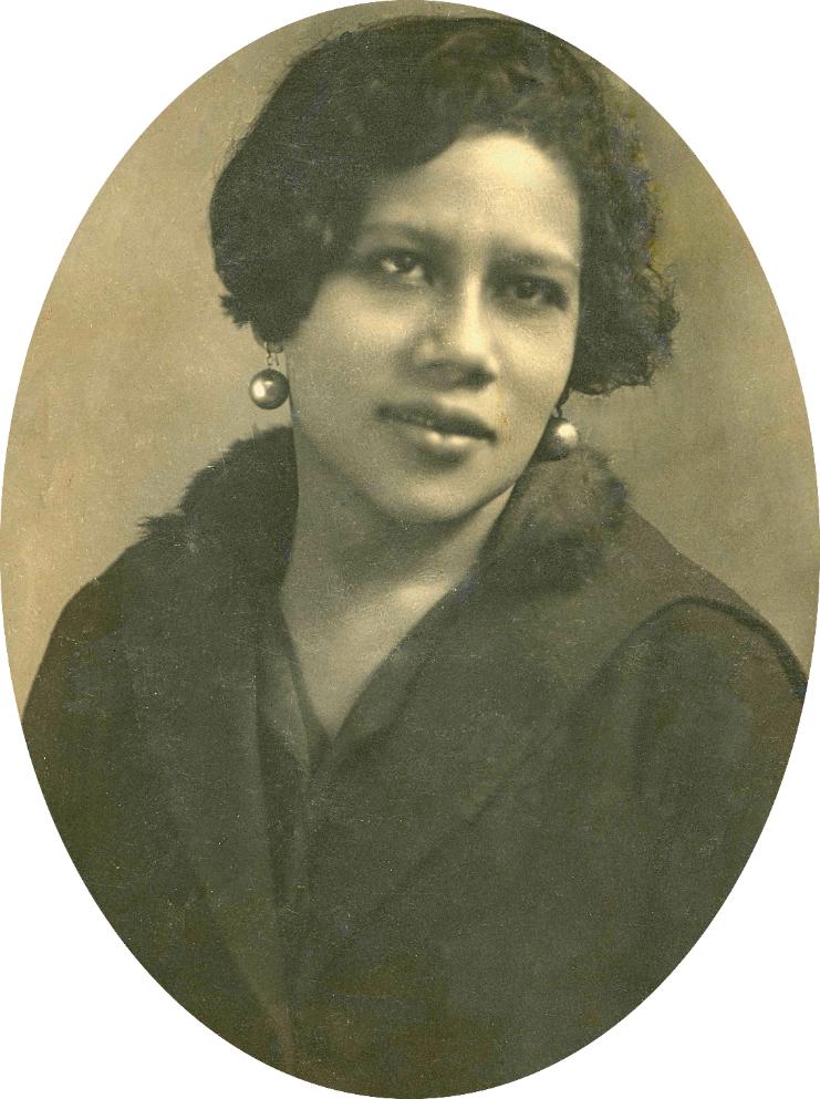 Betty (Albertina Nunes Pereira) na época em que usava o nome artístico Jandira Aymoré. 1925 circa (IMS_PIX_A05F07P04 / Acervo Pixinguinha / IMS)